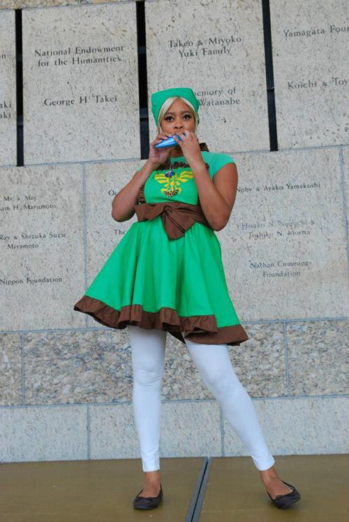femmeempathmagus:  cosplayingwhileblack:  X Character: Link Series: Legend of Zelda  YAAAAAAAAAAAS.  Agggghhhhh female Link, she looks so cute