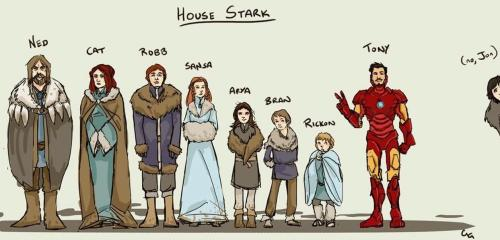 honey-u-should-see-me-in-a-crown:  House stark