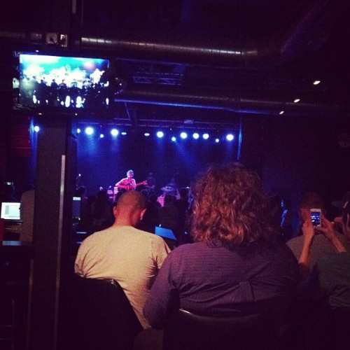 Watching Horse Thief watching Stornoway. (at The Waiting Room Lounge)
