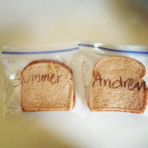 The way we make our pbj's is kind of a big deal. @andrewgugala #customsamichs #pbj