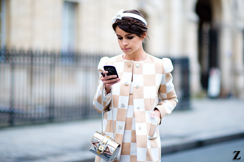 Miroslava Duma in Louis Vuitton SS13