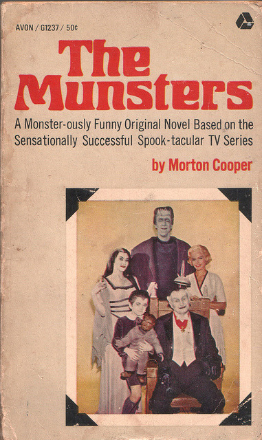 cryptofwrestling:  The Munsters - Morton Cooper (1965)