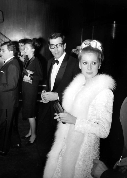 Roger Vadim and Catherine Deneuve, 1963