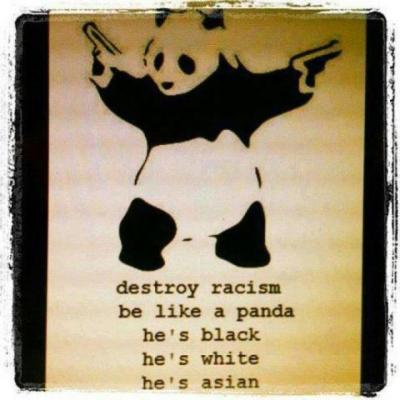 Be the panda yo…be the panda.