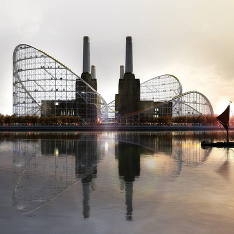 We're one step closer to building a giant roller coaster at London's Battersea Power Station.