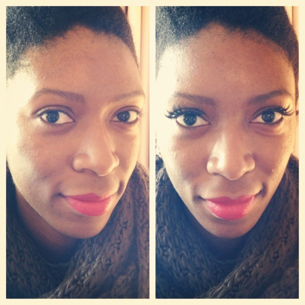 Lash Makeover! Trying @ardell_lashes in Wispies. (the same false eyelashes Pink is currently wearing on tour) #beauty