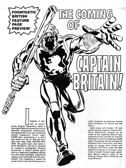 (via 'KID' ROBSON'S COMICBOOKS, CARTOONS & COLLECTABLES!: PART SEVEN OF FOOM COVER & IMAGE GALLERY…)