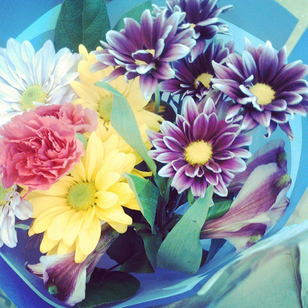 Flowers For My Lovely Mothers Birthday  :) love Her Man