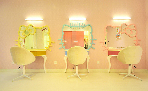 Hello Kitty Vanity Mirrors