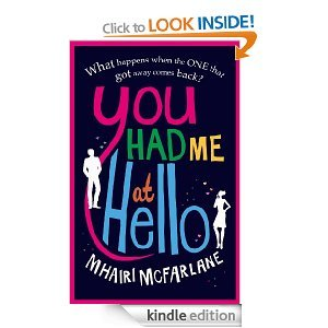 Book review- You had me at hello I've just finished reading this book after only a few days of buying it! I absolutely loved it, I could just not put it down at all! The story centres around Rachel and Ben who met on their first day of Uni at Manchester. The story flips between the past and the present. With out spoiling the book, Rachel and Ben don't end up speaking for 12 years after university until one day when she bumps back in to him. Its a love story so you'll guess that they are in some way romantically linked! But their love story is one to be envious of!  I loved Rachel who is the main character, I loved her sense of humour! She is fun, lively and isn't scared of speaking her mind. Although she has for years never comforted her own feelings. Until Ben comes back on the scene.  The ending was very well written and I had a warm feeling in my heart when it ended. I love a good rom com and this doesn't disappoint. At only £1.49 on amazon for kindle its a steal!
