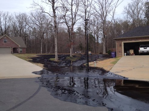 "© KARK Despite spilling tens, if not hundreds of thousands of gallons of oil and chemicals into an Arkansas neighborhood, thanks to a loophole in a law from 1980, ExxonMobil will not be paying into a federal oil spill cleanup fund because the oil they spilled is not the right type of oil. It is a twisted example of the legal technicalities and lax regulations that all too often favor oil companies, but a coalition of environmental groups are working to close the loophole. via Exxon won't pay into cleanup fund because oil spilled in Arkansas isn't ""oil"""