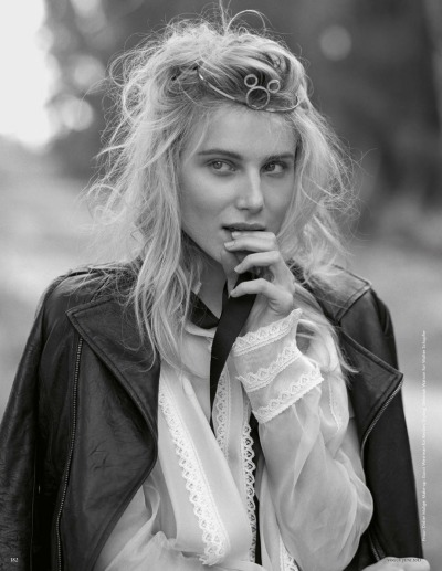 suicideblonde:  Dree Hemingway photographed by Bruce Weber for Vogue Germany, June 2013