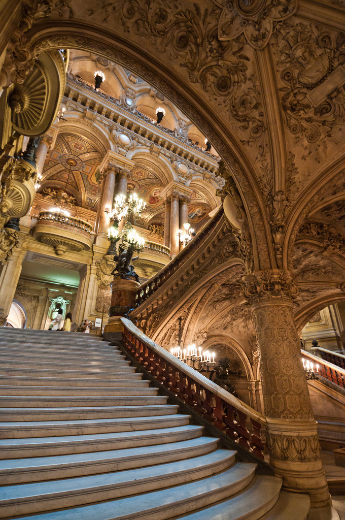 allthingseurope:  Opéra Garnier, Paris (by dawvon)  i would love to see an opera in here one day