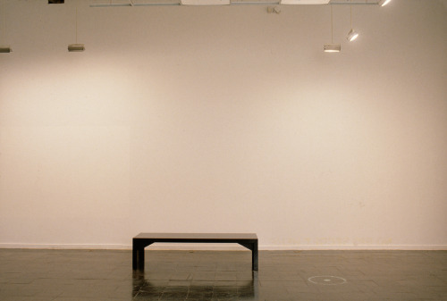 "Rirkrit Tiravanija, Untitled (View),1992. Installation view: ""The Big Nothing or Le Presque Rien."" Photo: Fred Scrutin Where is art? Since the 1960s, many contemporary artists have made works that ask us to consider how institutions of art (such as museums, galleries, and magazines) are part of the artwork and make us see things in particular ways. In 1992, the New Museum organized an exhibition called ""The Big Nothing or Le Presque Rien,"" which explored the boundaries between art as object and museum as arbiter of display. Artists in the show included Janine Antoni, Devon Dikeou, Gary Simmons, and Rirkrit Tiravanija—all of whom have works on view at the New Museum as part of ""NYC 1993: Experimental, Jet Set, Trash and No Star,"" through May 26, 2013."