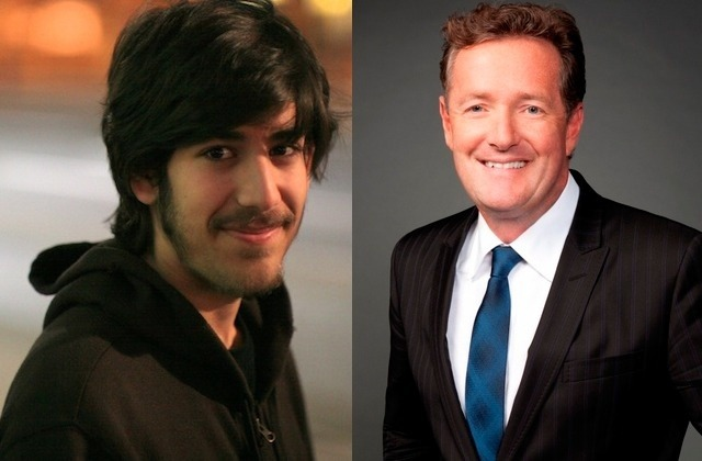AARON SWARTZ DIED FOR PIERS MORGAN'S SINS