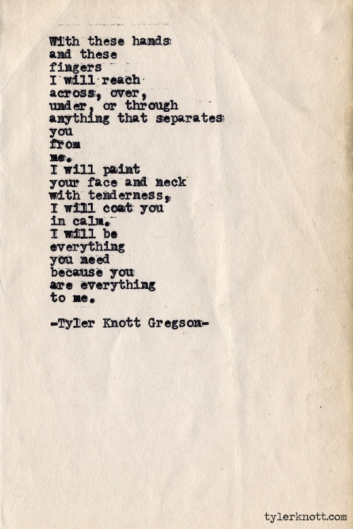 Typewriter Series #386 by Tyler Knott Gregson