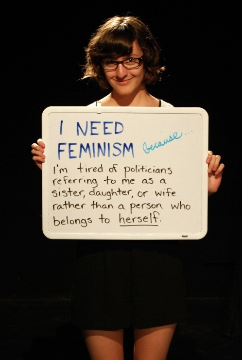 quellecoincidence:  NCF - Who Needs Feminism? (Part II) by Taylor M. Meredith on Flickr!