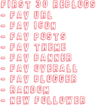 floristh:  Must be followingfloristh ✿ fav url ✿ fav icon ✿ fav posts ✿ fav theme ✿ fav banner ✿ fav overall ✿ fav blogger ✿ random ✿ new follower YOU'LL BE PROMOTED TO OVER 10K+ DASHBOARDS, and each winner gets a screenie :) xo