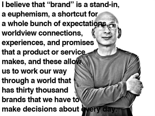 Seth Godin and other cultural mavens on the psychology and sociology of branding.