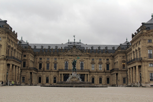 Würzburger Residenz, Germany  The Würzburg Residence was built in in the 18th century during the Baroque era. Balthasar Neumann was the architect, commissioned by Prince-Bishop Johann Philipp Franz von Schönborn. The Residence suffered major damage during the air raid of Würzburg during World War II and had to undergo years of restoration. Today it is part of of UNESCO's World Heritage List. More pictures