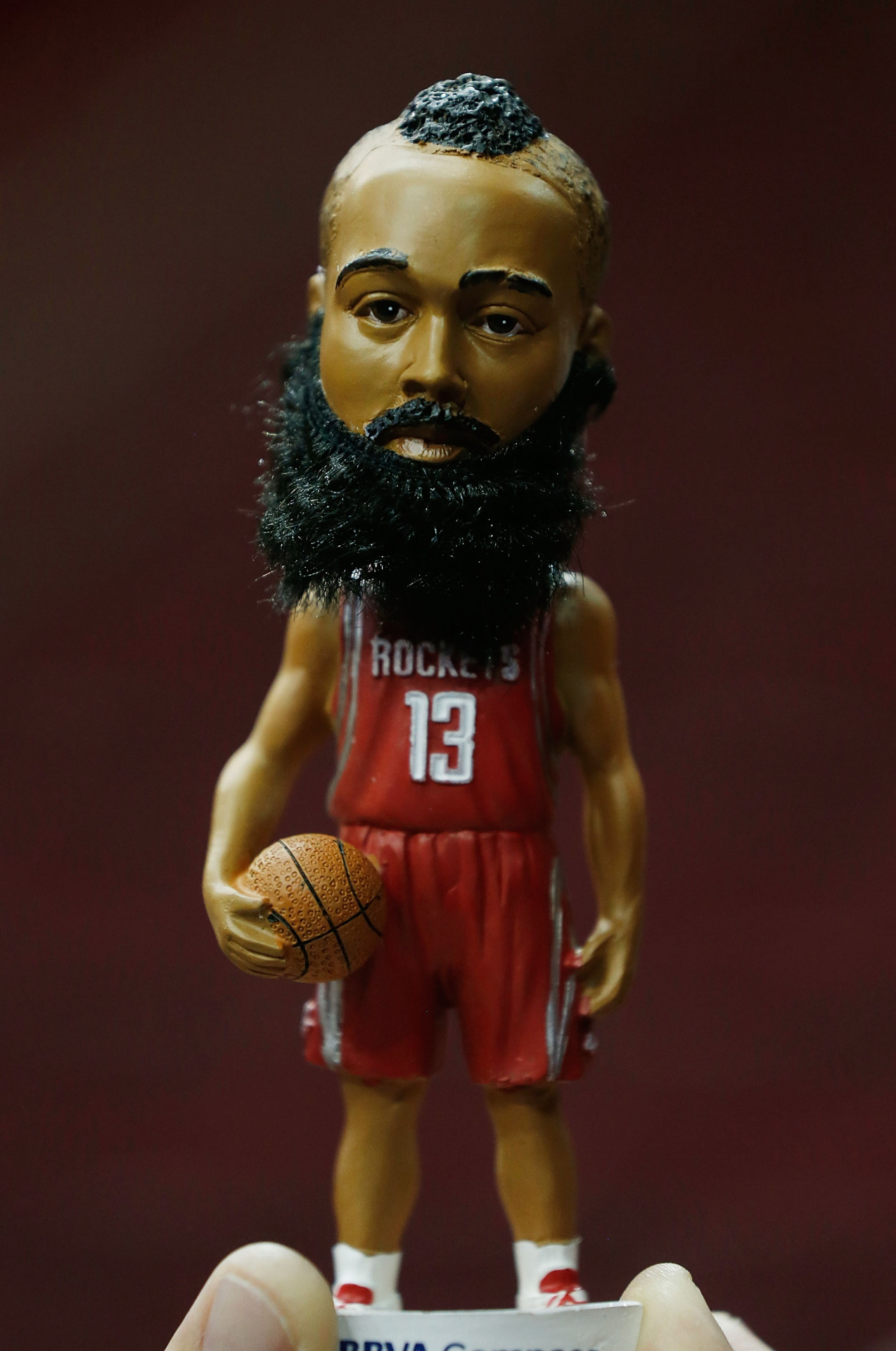 Pic: The James Harden Bobblehead is awesome! #FearTheBeard