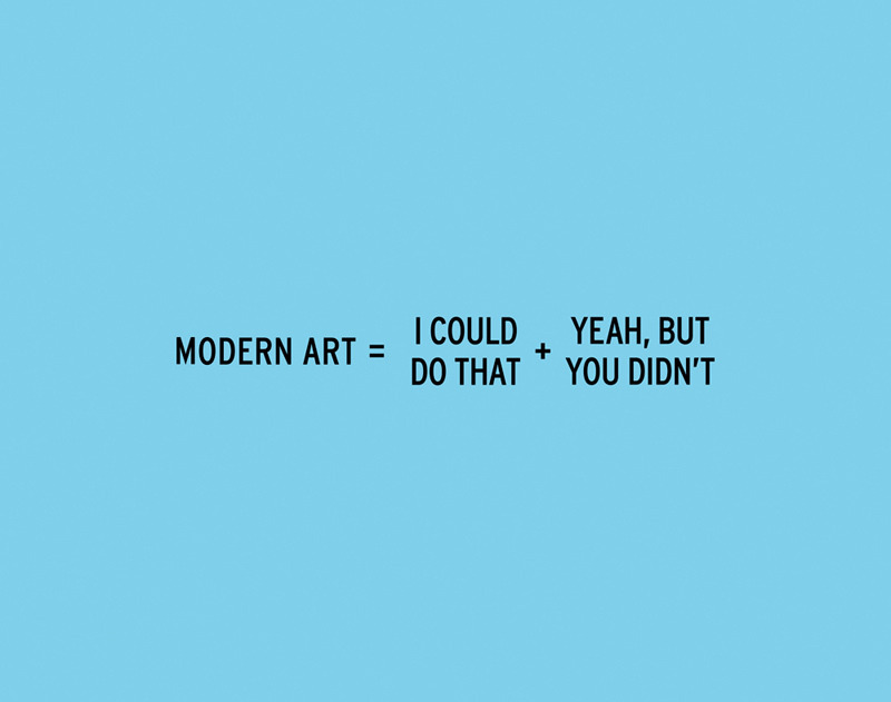 Modern Art by Craig DamrauerThis witty print, as well as other works by Craig Damrauer, is part of our one-day Winter Blues sale. Until midnight, take 15% off a special selection of art when you enter the code BLUES at checkout.
