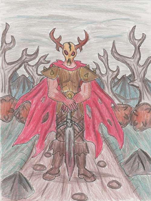 The Chronicles of Prydain-The Horned King by ~nickdruminor
