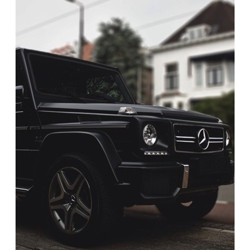 G-Wagon. #jeeps #mercedes #allblack #benz