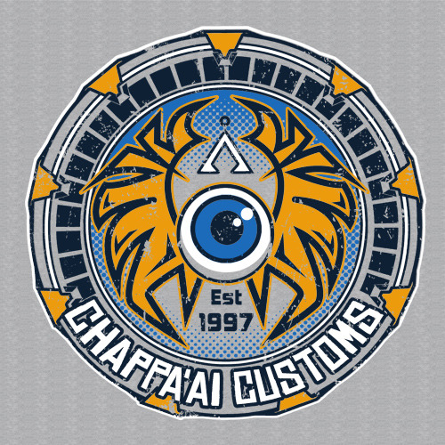 Chappa'ai Customs by frauholle now up for voting on Qwertee vote to see it print.