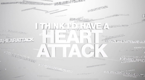 Can't wait to share the Heart Attack lyric video with you tomorrow. 10am EST.http://www.demilovato.com