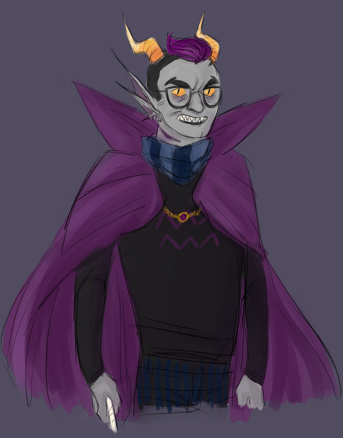 messin around but i think i like this flavor of Eridan very much