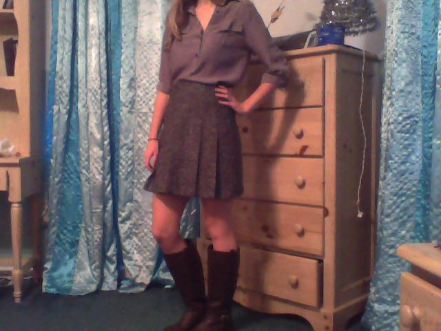 Shirt: $6 Skirt: $5 Boots: $7 Merry Christmas Eve!