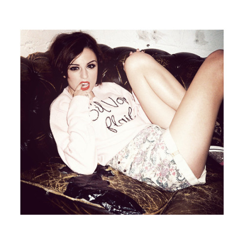 8thgradeclassof2012fls:  An image of Cher Lloyd ❤ liked on Polyvore