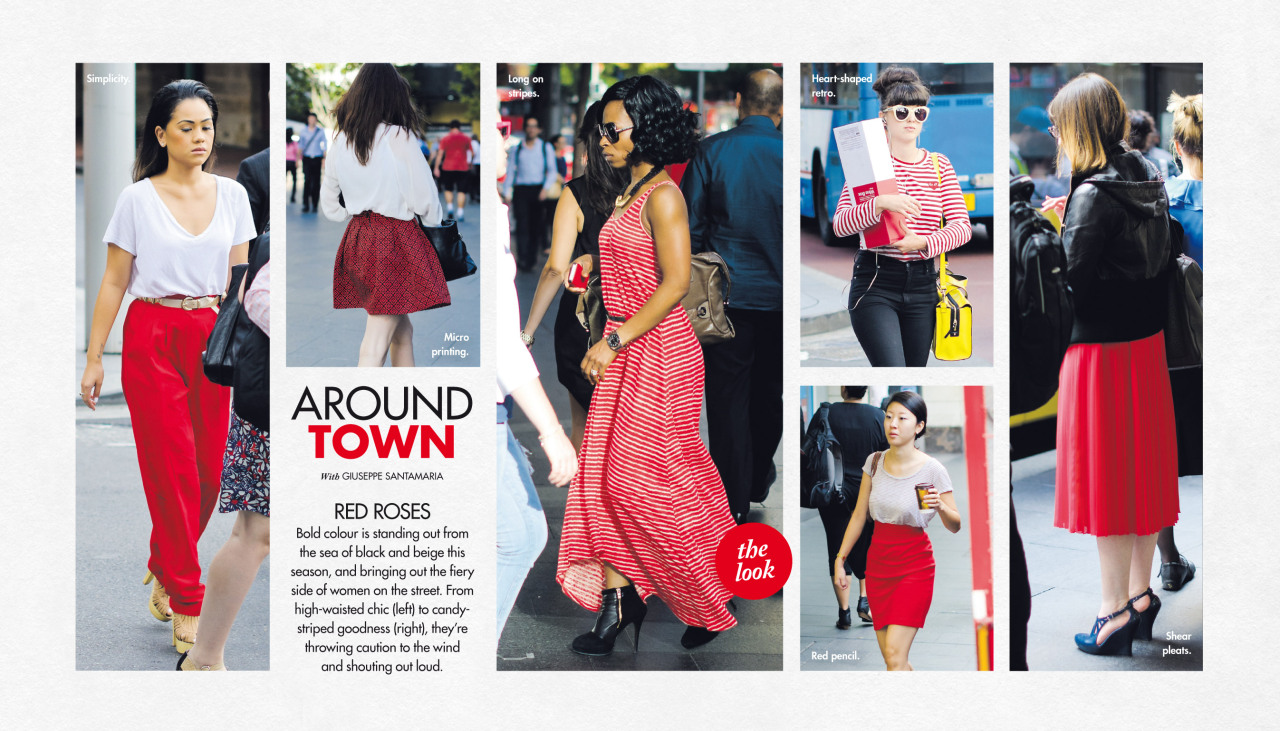 Last Sunday's Around Town in The Sun-Herald's Sunday Life Magazine.