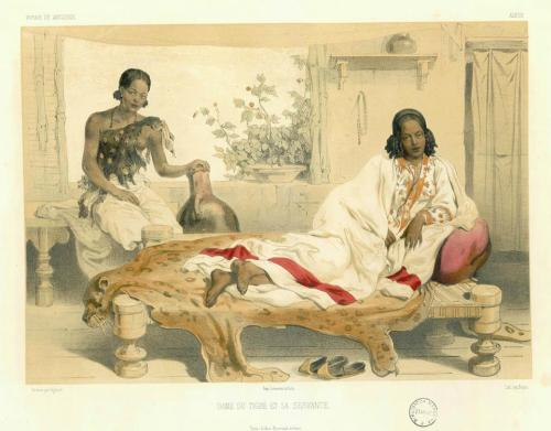 akilivumbi:  Tigray women from the XIXth century  Theophile Lefebvre