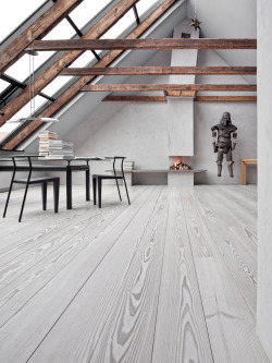 justthedesign:  Modern Dining Room Design Flooring By Dinesen And Photography By Erik Zappon