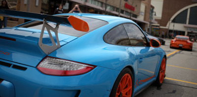 IMG_9840: Porsche GT3RS / Blue Twin (by i_am_lee_sam)