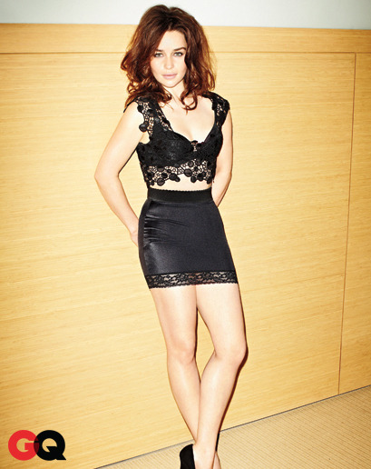 lorddontslomedown:  Emilia Clarke - GQ Magazine March 2013