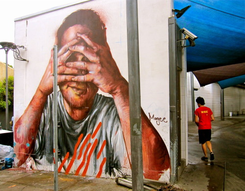 Waave+Dada Street Art Week. Fintan Magee. Sydney (March 2013)