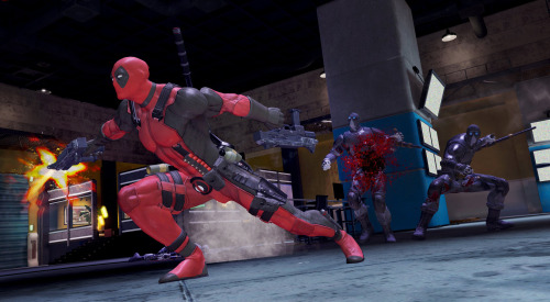 gamefreaksnz:  Latest screenshots revealed for Deadpool  Activision has released half a dozen new screenshots from their third person action adventure based on Marvel Comics' merc with the mouth.