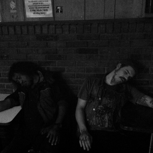 Sleeping in the gutters with the rats!! @manrayband @stened @rustydaggertricks @lazerwulfband @kiragurl #lexingtonKY #dopeheads
