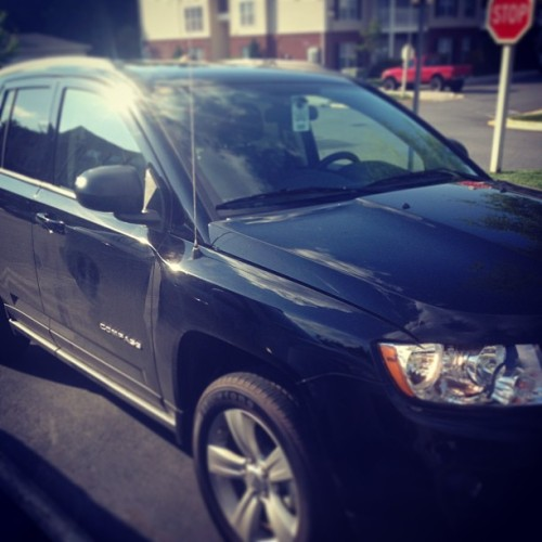@astanley827 's new whip #2013 #toocoolforschool #Jeep #Compass #superstan