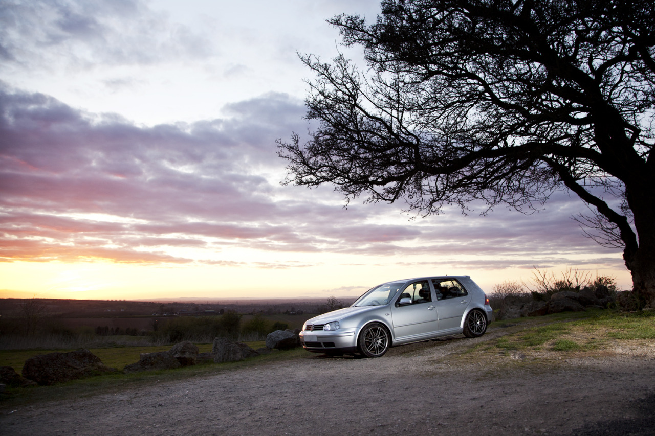 An old friend of mine asked me to photography his VW Golf Mk4.I know photographing sunset lit images are cliche and a sin for photographers, but this was all for fun.