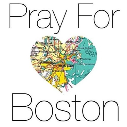 Our thoughts and prayers go out to everyone in Boston. ❤💙 #boston