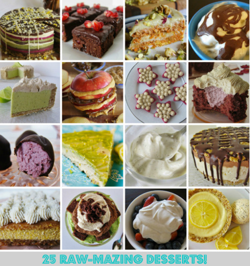 findvegan:  25 raw-mazing desserts!!  Fuckin food. I love it.