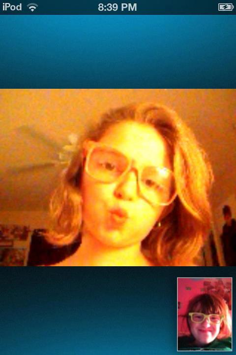 Skype with my best friend
