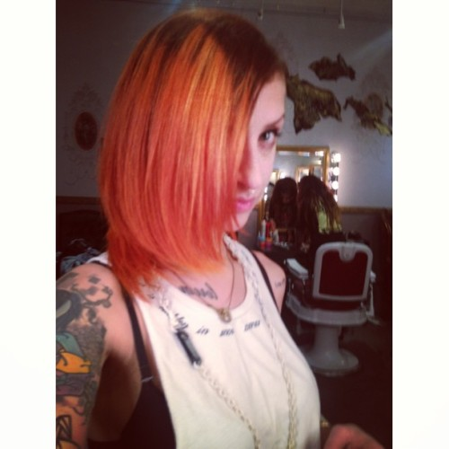 Copper has been achieved @frances_sand #ombre (at Salon No. 15)