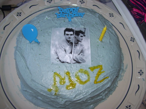 Happy birthday Morrissey!