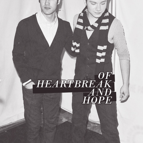 of heartbreak and hope; a crisscolfer fanmix I saw you at your lowest point; your miserable, wallowing worst, pitiful and dirty, sorrowful and shamed and Istill love(d) you  1. florence and the machine - falling / 2. we are scientists - that's what counts / 3. maxïmo park - I want you to stay / 4. 30 seconds to mars - was it a dream? / 5. muse - citizen erased/ 6. mumford & sons - white blank page / 7. incubus - 11 am / 8. two door cinema club – next year/ 9. mumford & sons - not with haste  ✖ especial thanks and credit to tere for the beautiful graphic she's made and her patience