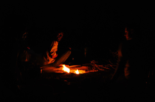 Night in the Great Thar desert